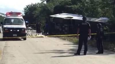 Car crash kills 10 in Mexico