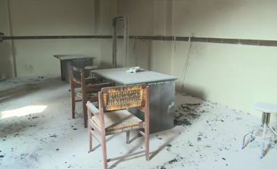 Cylinder Blast in a government hospital in Lahore