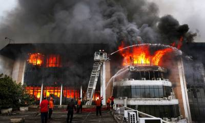 Fire in Ministry of Law and Justice in Islamabad, important documents burnt