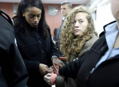 Israel indicts 16 year old Palestinian girl charged with assault on soldier