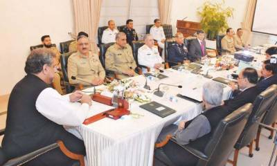 National Security Committee meets in Islamabad