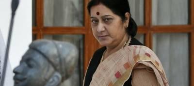 No bilateral series between India and Pak: Sushma Swaraj