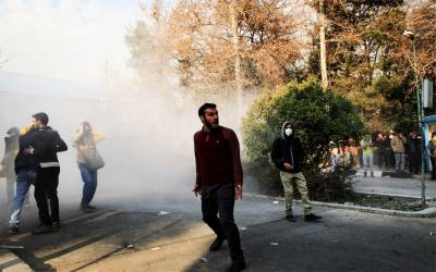 Violent protest demonstrations are continuing in Iran