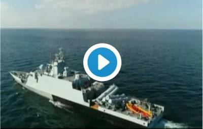 VIDEO: Pakistan Navy fires indigenously built cruise misisle
