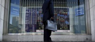 Asian shares at ten-year peak on upbeat data, oil elevated on Iran unrest