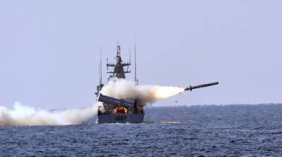 Pak Navy successfully test fires Naval cruise missile Harba