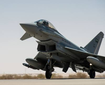 Saudi Air Force fighter jet crashes: officials