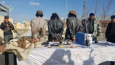 Afghan Taliban three key members arrested