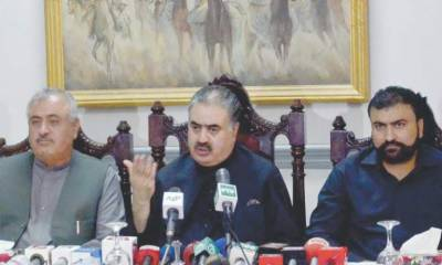 CM Baluchistan Sana Ullah Zehri resigns