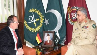 German Ambassador acknowledges Pakistan Army efforts for regional peace
