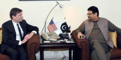 Pakistan US vow to enhance economic cooperation
