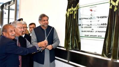 PM inaugurates international terminal at Sialkot Airport