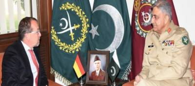 German ambassador Martin Kobler calls on COAS Gen Qamar Bajwa