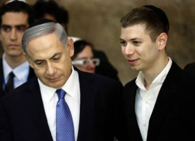 Israeli PM Netanyahu's son caught speaking against father's dubious deal
