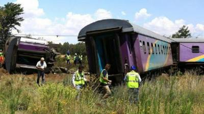 Over 200 injured as trains collide in South Africa