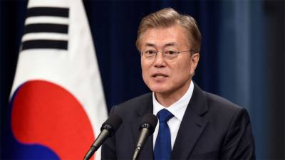 S Korea's Moon says can never give up goal of denuclearizing