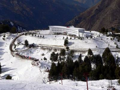 Swat: Reconstruction of Malam Jabba tourist resort in full swing