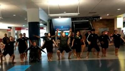 VIDEO: Pakistan cricket team welcomed by special dance at New Zealand Airport