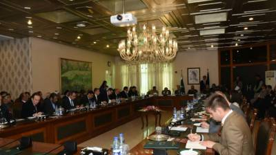 Foreign diplomats were briefed about Pakistan's achievements in counter-terrorism efforts