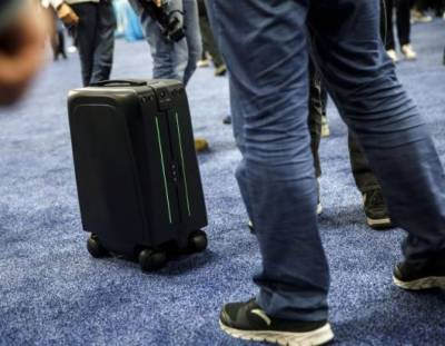 Forget self-driving car, meet self-driving suitcase