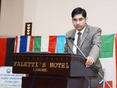 Pakistani Youth is much talented than other countries, provided given opportunity: Youth Parliament leader Ubaid Qureshi