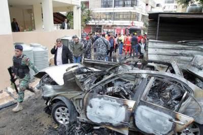 Hamas commander wounded in car bomb blast in Lebanon