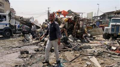 Powerful bombing in North of Baghdad targeting Iraqi police