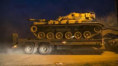 Turkey deploys Tanks convoy at Syrian border