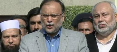 Ahsan Iqbal asks people not to do politics over Zainab murder
