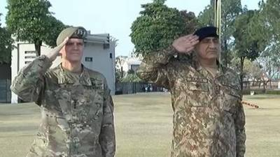 CENTCOM Commander to lead US military dialogues with GHQ: officials