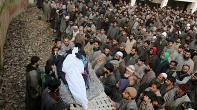 Huge protests in occupied Kashmir against visit of Israeli PM Netanyahu to Delhi