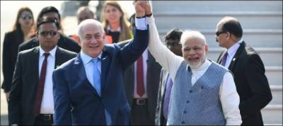 India Israel sign series of pacts as Natanhahu hails new era of partnership
