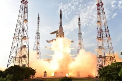 India launches rocket carrying dozens of satellites