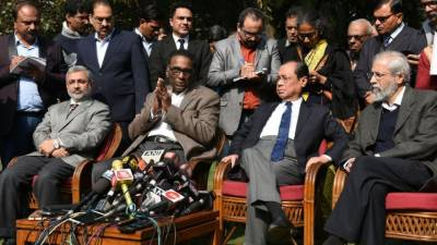 Indian Supreme Court judges vs CJI: Four justices criticise case allocation; Congress says 'democracy in danger'