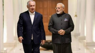 Israeli PM Netanyahu used some tough words against Hafiz Saeed in New Delhi