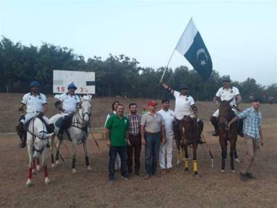 Pak beat India by 15 to 3.5 goals in Armed Forces Int'l Polo Tournament