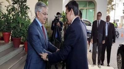 Pakistan Turkmenistan Foreign Ministers meet in Islamabad