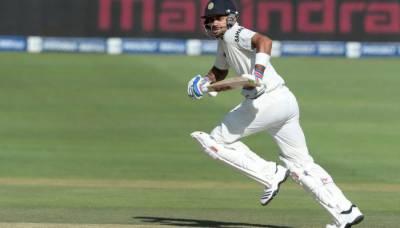 Virat Kohli 's unbeaten century, India still lags behind South Africa