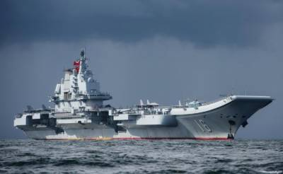 China's aircraft carrier passes through Taiwan Strait amid tensions with Taiwan