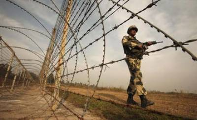 Indian Army Captain hit by crossfire at LoC