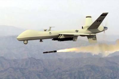 US Drone strike at Pakistan Afghanistan border area