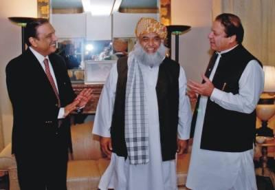 Fazal ur Rehman shuttle diplomacy