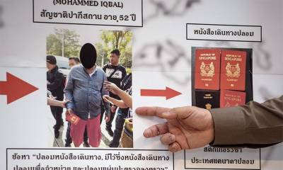 Pakistani passport forger arrested in Thailand has no links with ISIS: officials