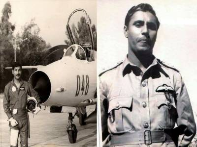 Sattar Alvi: PAF honours the man who shot down Israeli Mirage in 1974 Arab Israel War