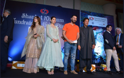 Shaukat Khanum annual fundraising at Dubai turns out to be star studed event