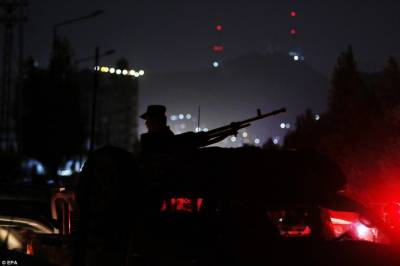 Shooting, blasts and fire inside Kabul Intercontinental Hotel