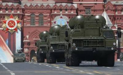 Storm damages Russian S 400 missile defence system on way to China