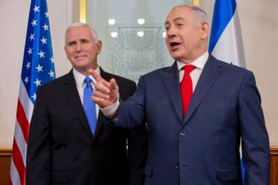 Arab lawmaker expelled from Israeli Parliament over protest during Mike Pence speech