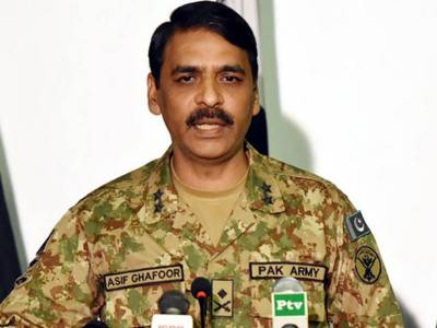 DG ISPR responds back to the Afghan authorities allegations over Haqqani network