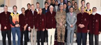 International hockey players call on COAS Gen Qamar Bajwa